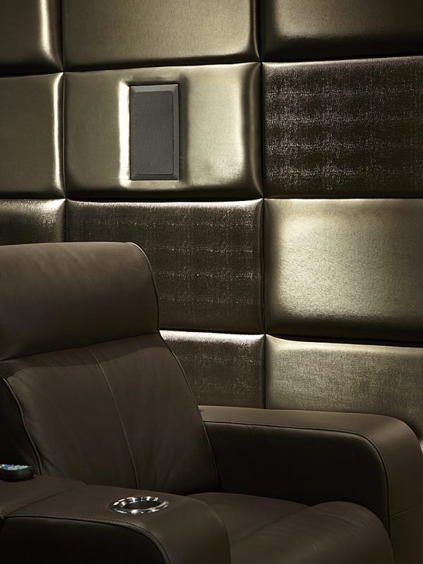 Home Cinema Room Fabric Walling Wallcovering
