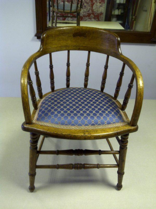 Pin cushion chair
