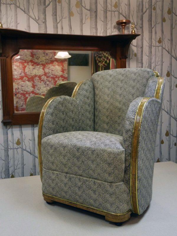 1920s Art Deco Armchair